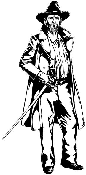 Darrwin Chronicles character - Goodacre