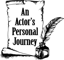 pen and scroll icon linking to An actor's personal journey